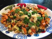 Merluzzo e verdure in padella