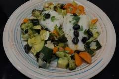 Merluzzo con verdure